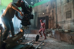Justice League (2017) Behind the Scenes - Ezra Miller