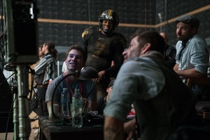Justice League (2017) Behind the Scenes - Ray Fisher and Zack Snyder