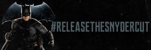 Justice League: Release The Snyder Cut Banner - Batman