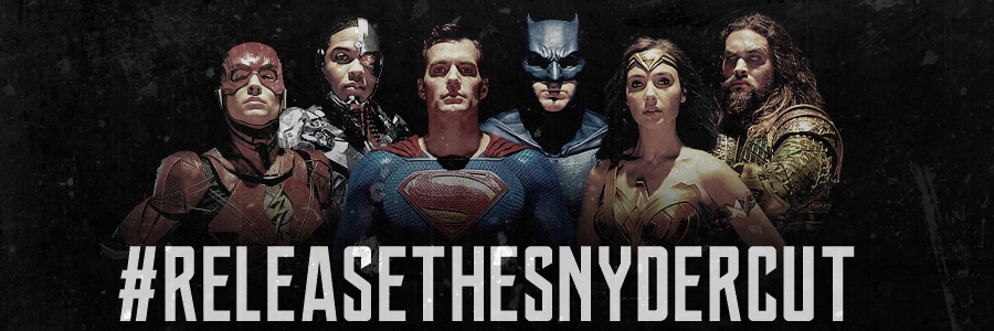 Justice League: Release The Snyder Cut Banner