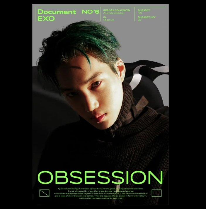 KAI <OBSESSION>  Concept Teaser Image