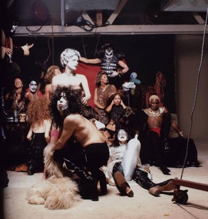 KISS ~August 18, 1974 (Hotter Than Hell Photoshoot)