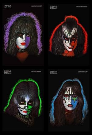 kiss Solo Albums (1978)