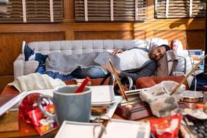 Kal Penn as Garrett in 'Sunnyside'