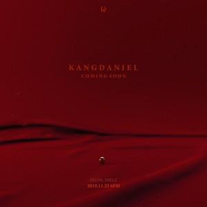 Kang Daniel teases upcoming single in red teaser image