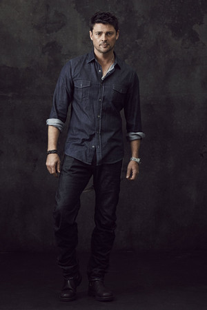 Karl Urban - Almost Human Portrait - 2013