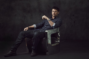 Karl Urban - Almost Human Portrait - 2013