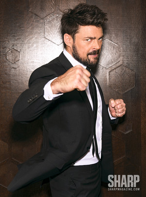 Karl Urban - Sharp Magazine Photoshoot - 2016