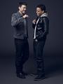 Karl Urban and Michael Ealy - Almost Human Portrait - 2013 - karl-urban photo