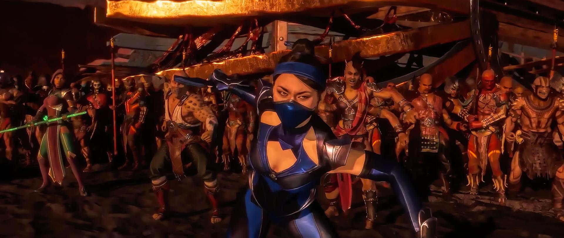 Kitana, Sheeva, Baraka and Jade (MK11)