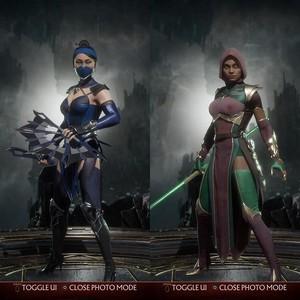 Kitana and Jade (MK11)