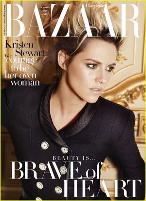 Kristen Harper's Bazzar UK October 2019