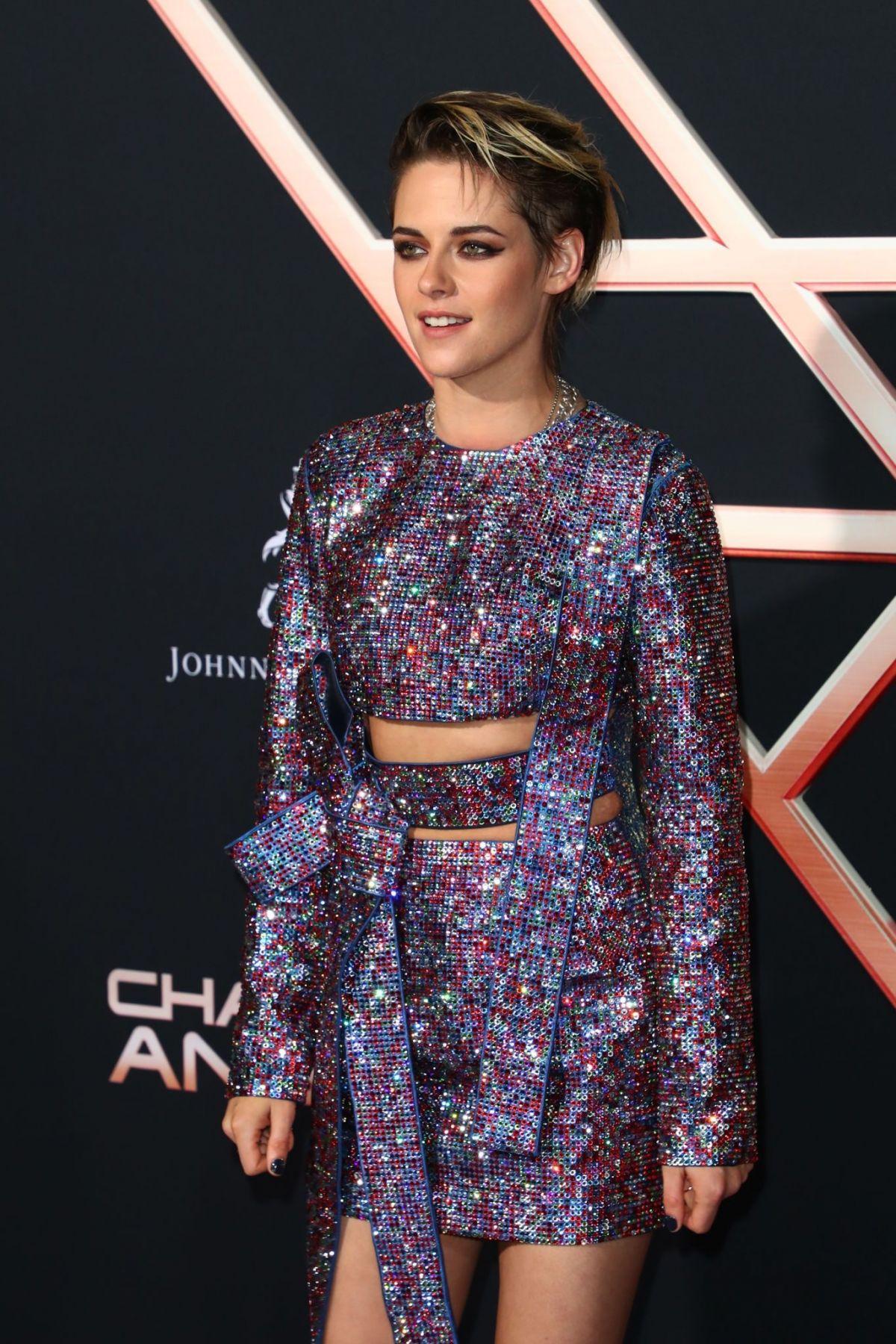 Kristen at Charlie's anjos premiere