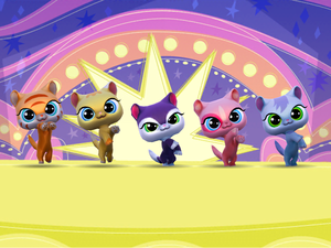 LPS Quirky kitties gameloft app