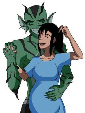 Lagoon Boy and Supergirl