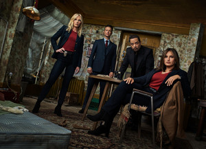 Law and Order: SVU - Season 21 Portrait - Kelli Giddish, Peter Scanavino, Ice-T and Mariska Hargitay