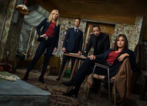 Law and Order: SVU - Season 21 Portrait - Kelli Giddish, Peter Scanavino, Ice-T and Mariska Hargitay