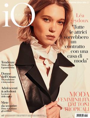 Lea Seydoux - IO Donna Cover - 2019