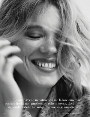 Lea Seydoux - IO Donna Photoshoot - 2019