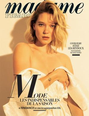 Lea Seydoux - Madame Figaro Cover - 2018