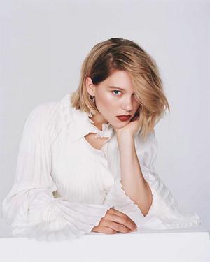 Lea Seydoux - Marie Claire France Photoshoot - 2018