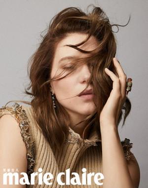 Lea Seydoux - Marie Clarie Taiwan Photoshoot - 2019