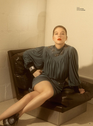 Lea Seydoux - Vanity Fair France Photoshoot - 2019