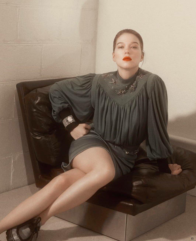 Lea Seydoux - Vanity Fair France Photoshoot - 2019
