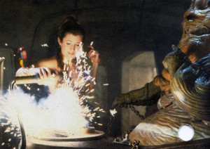 Leia Smashes Jabba s Control Panel