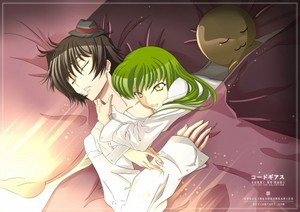 Lelouch and C. C. Get a Good Night's Rest