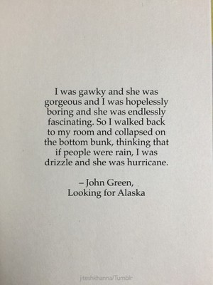 Looking for Alaska - উদ্ধৃতি