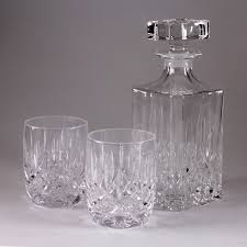 Lowball Decanter And Glass Set