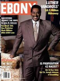 Luthet Vandross On The Cover Of Ebony