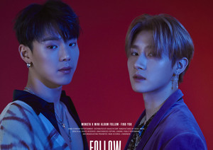 "MONSTA X revealed the first set of their teaser photos for ""FOLLOW : FIND YOU"""