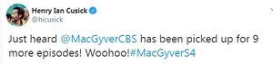 MacGyver has been picked up for 9 もっと見る episodes!