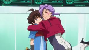 Magee Hugging Riku