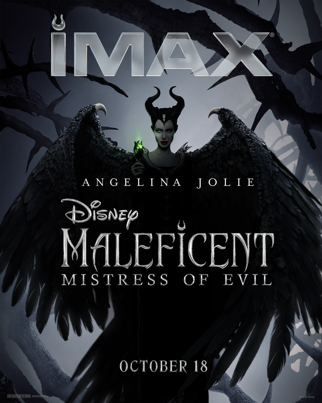 Maleficent Mistress Of Evil 2019 Poster Maleficent