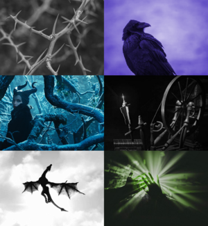 Maleficent aesthetic