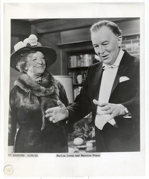 Marion Lorne & Maurice Evans