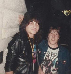 Mark St. John ~Bethlehem, Pennsylvania...November 15, 1984 (Animalize World Tour)