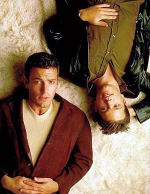 Matt Damon and Ben Affleck - Entertainment Weekly Photoshoot - 1998