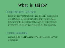 Meaning Of The Hijab
