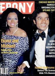 Michael Jackson And Diana Ross On The Cover Of Ebony