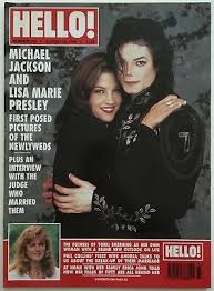 Michael Jackson And Lisa Marie Presley On The Cover Of Hello