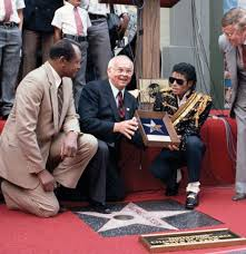 Michael Jackson Walk Of Fame Induction Ceremony 1984