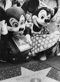Mickey chuột 1978 Walk Of Fame Induction Ceremony
