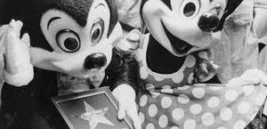 Mickey мышь 1978 Walk Of Fame Induction Ceremony