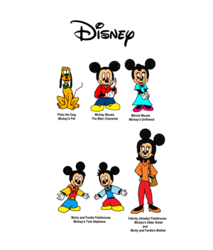 Mickey Mouse 2020 Disney, Disney Channel, Disney XD or Disney Plus(+) in Future