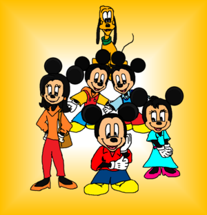 Mickey Mouse 2020 Minnie, Pluto, Morty and Ferdie and Felcity