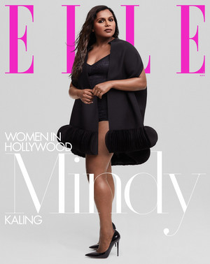 Mindy Kaling - Elle Cover - 2019